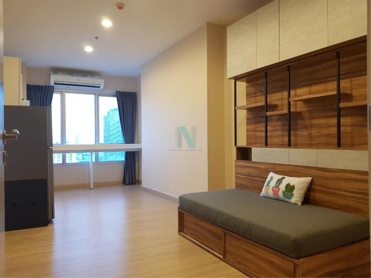 NOPPON REAL ESTATE CO.,LTD. Agency's For rent MOTIF CONDO 1 Bedroom 22nd Floor near BTS Wongwian Yai 6