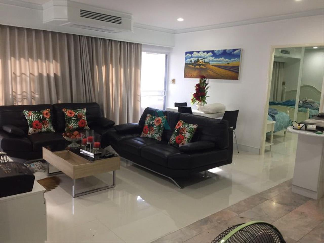 NOPPON REAL ESTATE CO.,LTD. Agency's For rent Saranjai Mansion 2 bedrooms 7th floor near BTS Nana 2