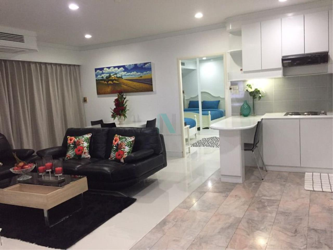 NOPPON REAL ESTATE CO.,LTD. Agency's For rent Saranjai Mansion 2 bedrooms 7th floor near BTS Nana 4