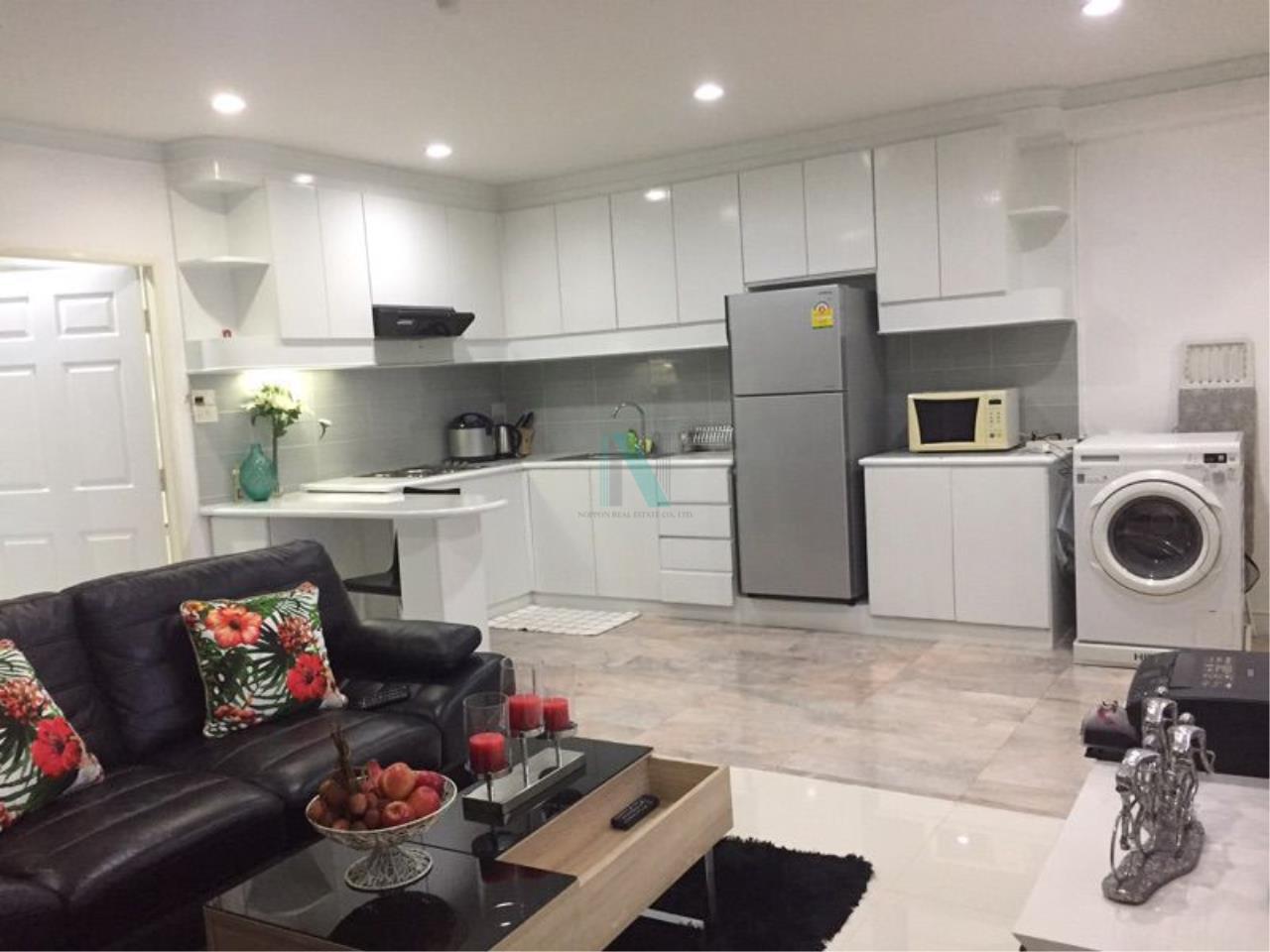 NOPPON REAL ESTATE CO.,LTD. Agency's For rent Saranjai Mansion 2 bedrooms 7th floor near BTS Nana 7