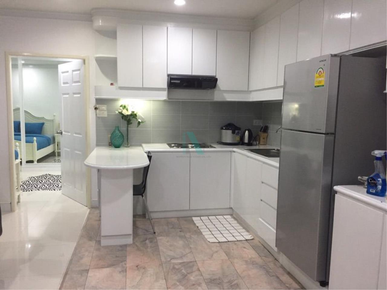 NOPPON REAL ESTATE CO.,LTD. Agency's For rent Saranjai Mansion 2 bedrooms 7th floor near BTS Nana 8