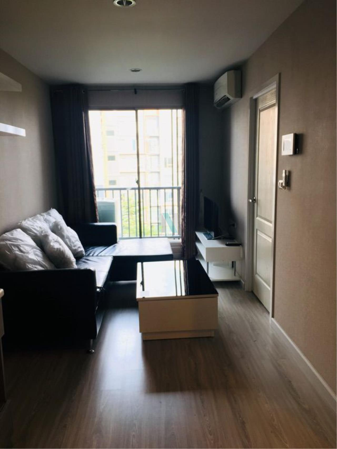 NOPPON REAL ESTATE CO.,LTD. Agency's For Rent The Privacy Ratchada-Sutthisan 1 Bedroom 6th Floor Building A  1