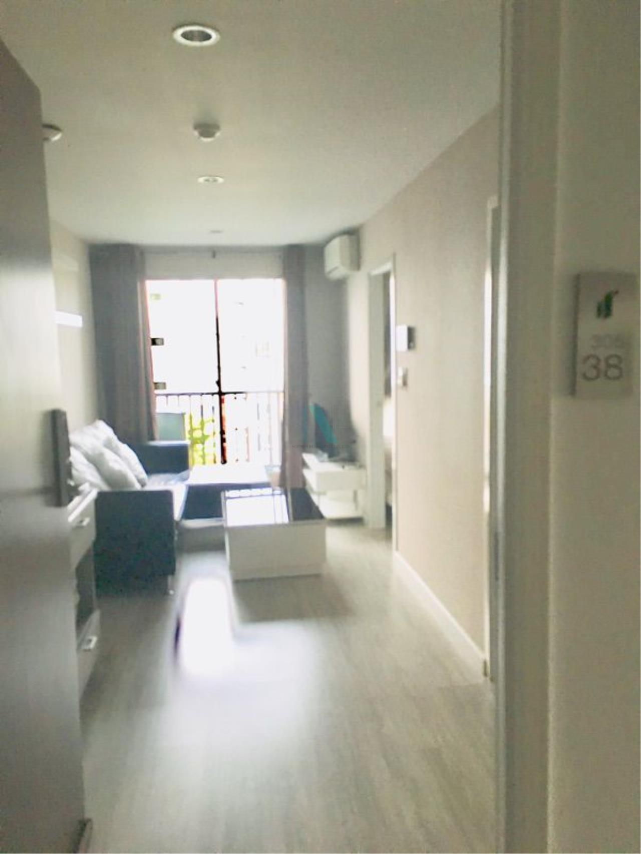 NOPPON REAL ESTATE CO.,LTD. Agency's For Rent The Privacy Ratchada-Sutthisan 1 Bedroom 6th Floor Building A  4