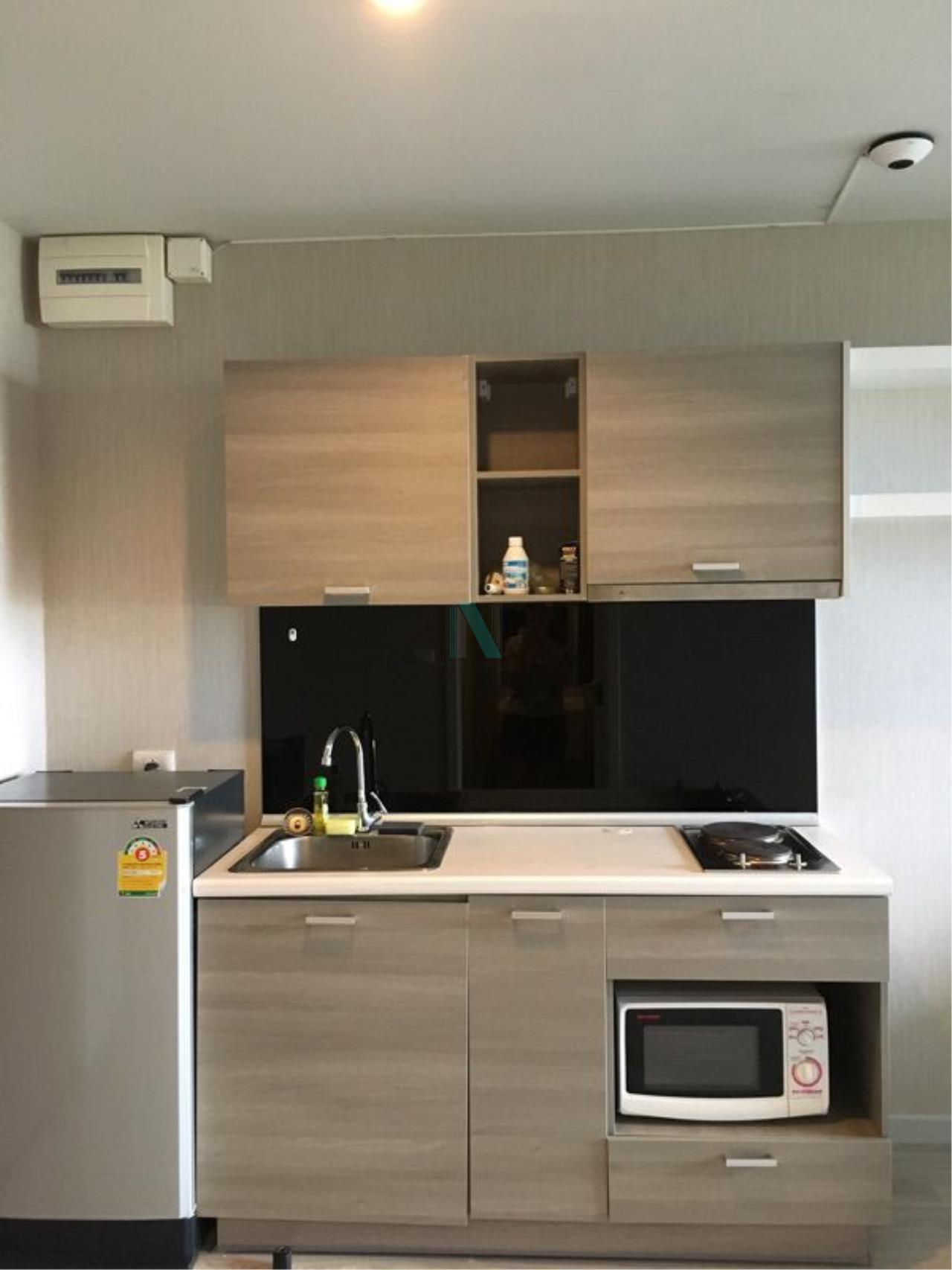 NOPPON REAL ESTATE CO.,LTD. Agency's For Rent The Privacy Ratchada-Sutthisan 1 Bedroom 6th Floor Building A  7