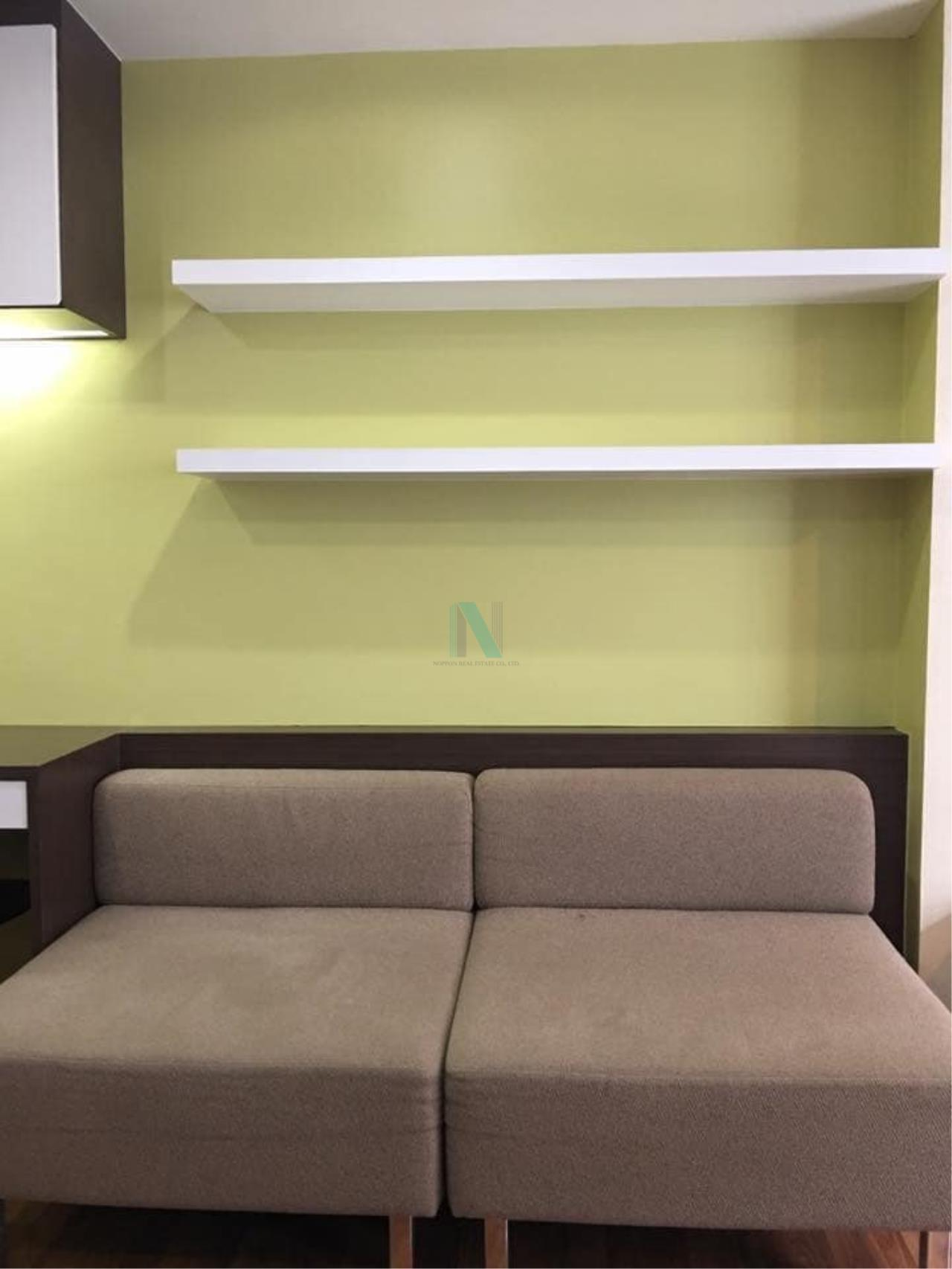 NOPPON REAL ESTATE CO.,LTD. Agency's For rent Atrium Phahol-Suthisarn STUDIO 7th floor near BTS Saphan Khwai 1