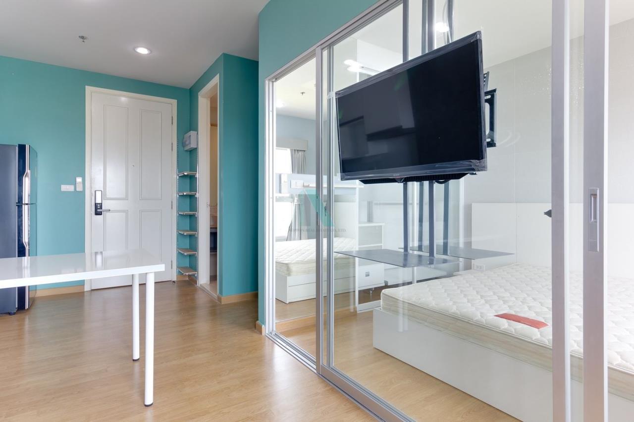 NOPPON REAL ESTATE CO.,LTD. Agency's For rent The Parkland Phetkasem 1 bedroom 27th floor Building A 3