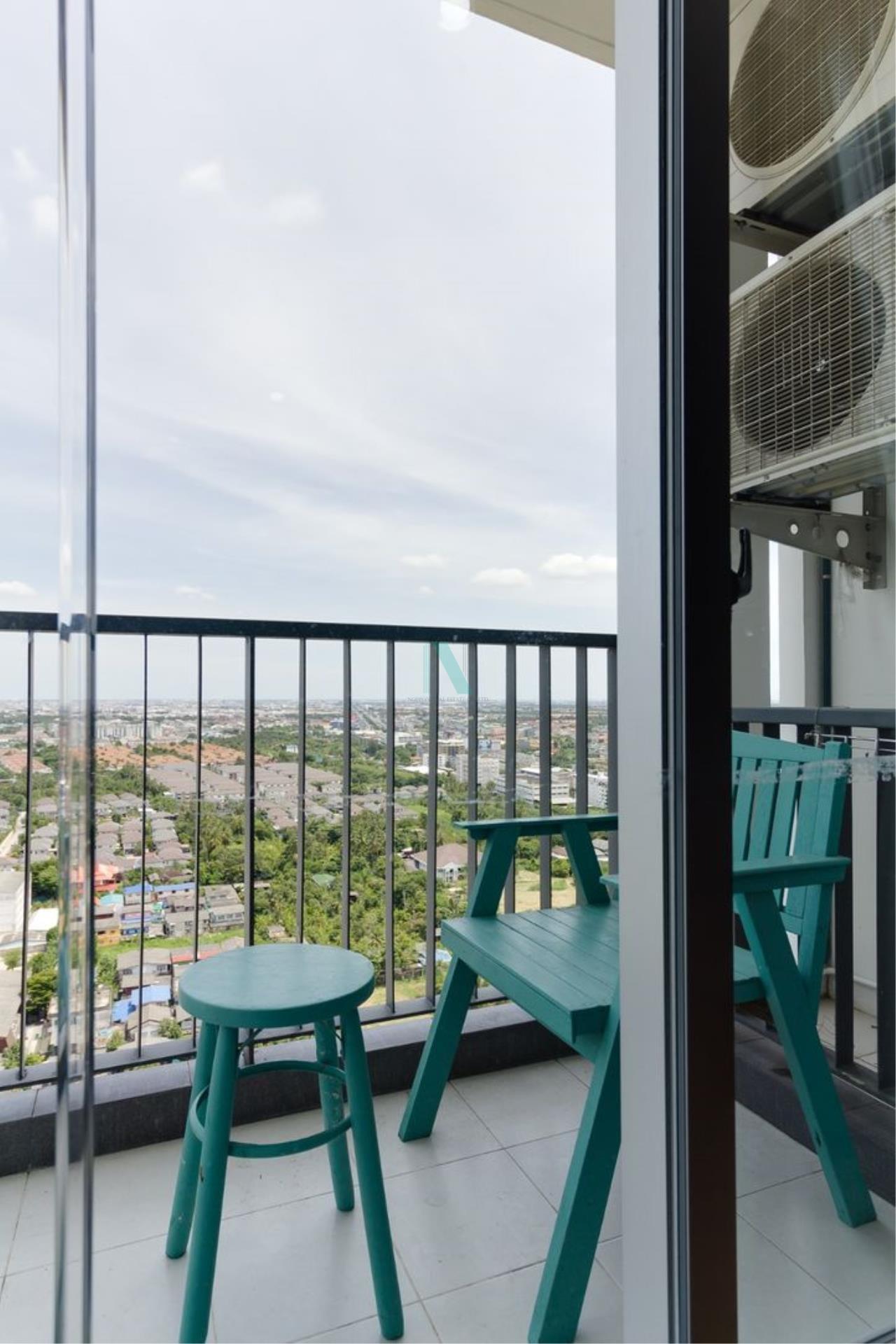 NOPPON REAL ESTATE CO.,LTD. Agency's For rent The Parkland Phetkasem 1 bedroom 27th floor Building A 8