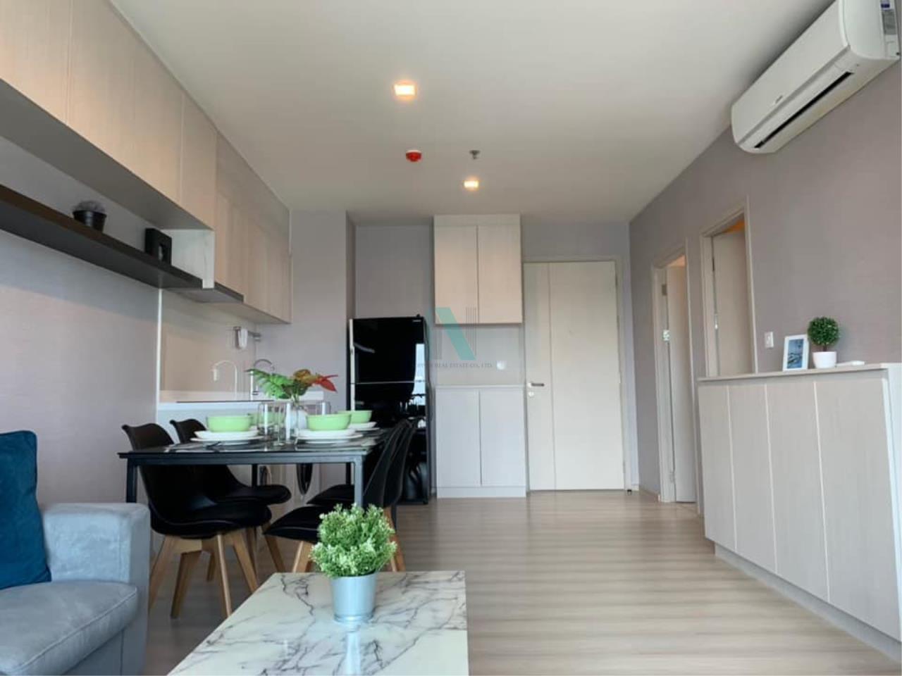 NOPPON REAL ESTATE CO.,LTD. Agency's For rent Life Sukhumvit 48 2 bedroom 15th floor S building BTS Phra Khanong 3