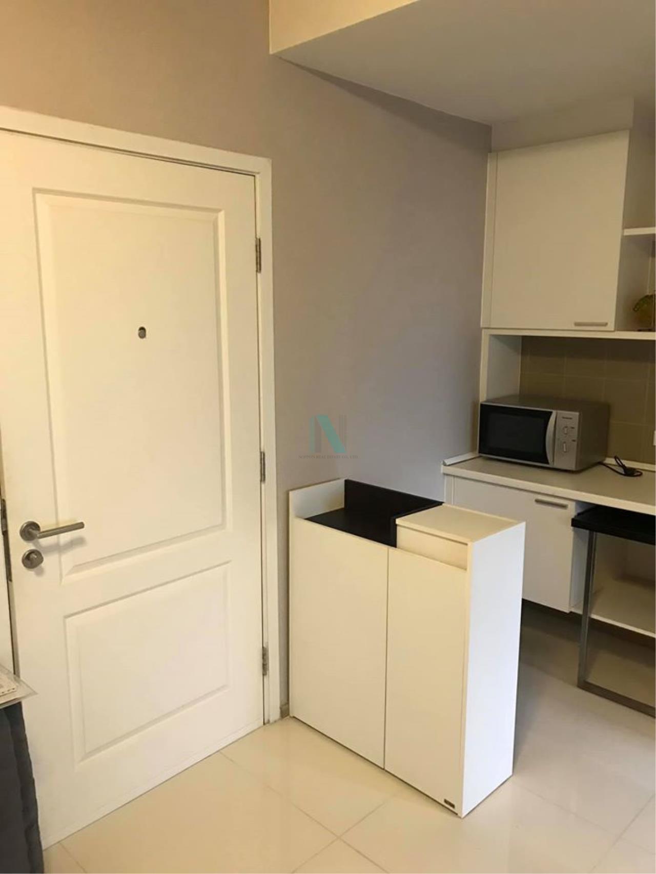 NOPPON REAL ESTATE CO.,LTD. Agency's For rent Fuse Mobius Ramkhamhaeng Station 1 bedroom 11th floor Building B 5