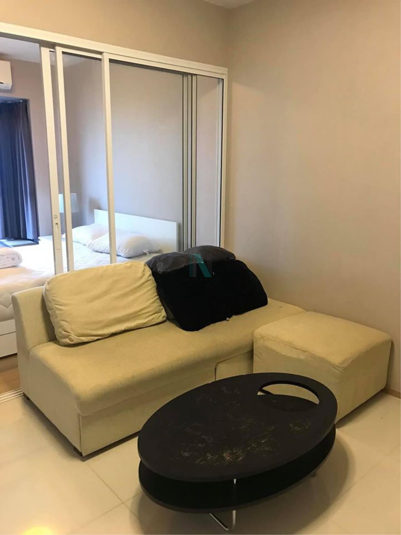NOPPON REAL ESTATE CO.,LTD. Agency's For rent Fuse Mobius Ramkhamhaeng Station 1 bedroom 11th floor Building B 6
