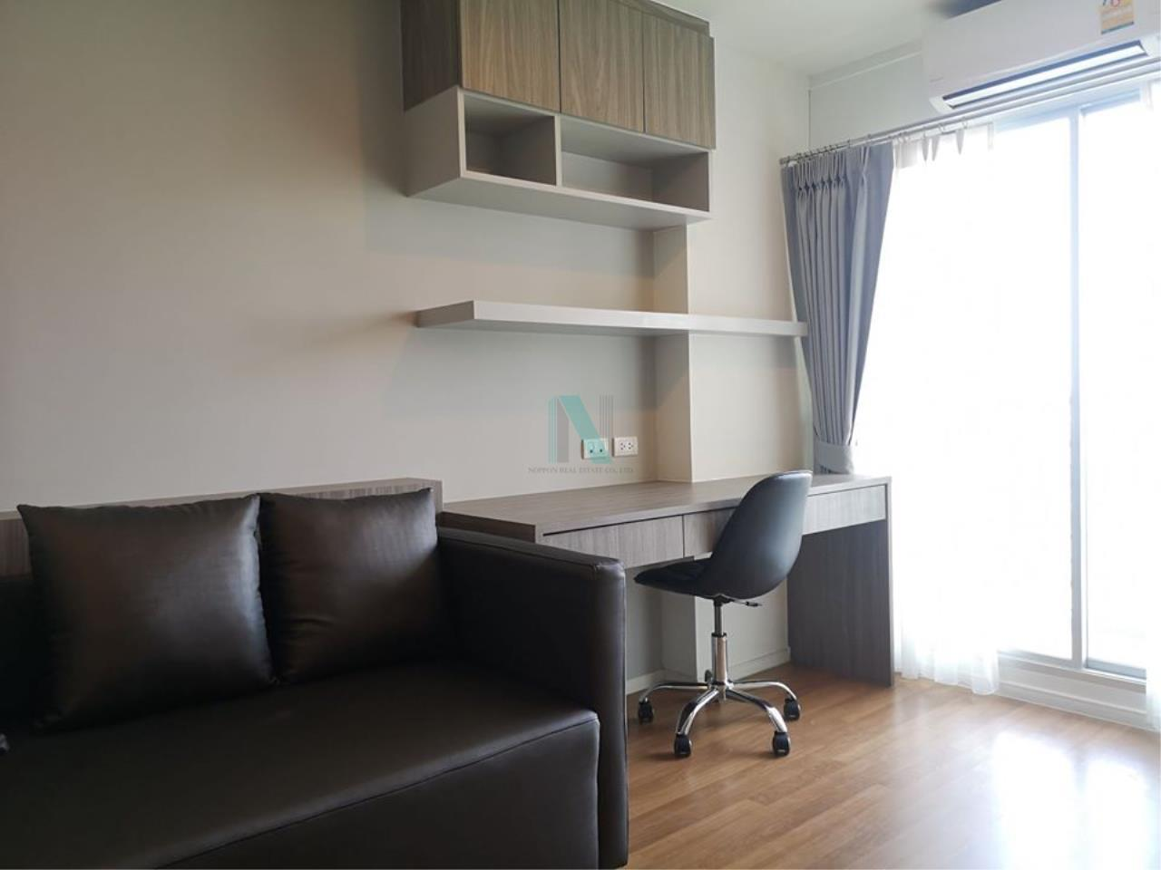 NOPPON REAL ESTATE CO.,LTD. Agency's For rent Lumpini Place Borommaratchachonnani-Pinklao 1 bedroom 12th floor. 7