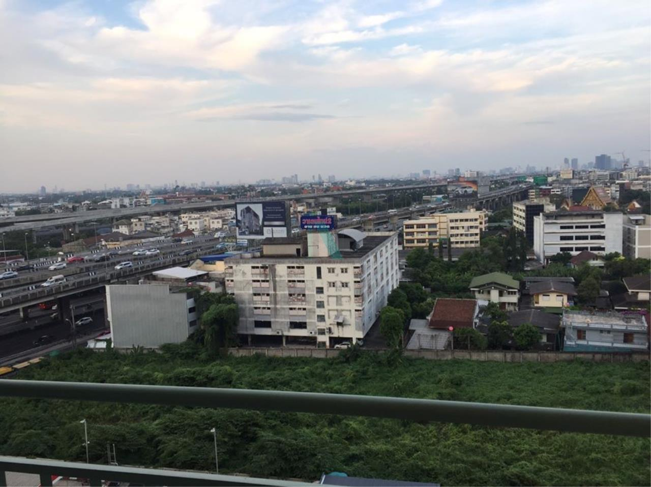 NOPPON REAL ESTATE CO.,LTD. Agency's For rent Lumpini Place Borommaratchachonnani-Pinklao 1 bedroom 12th floor. 8