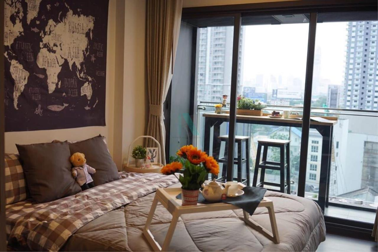 NOPPON REAL ESTATE CO.,LTD. Agency's For rent The LINE Asoke-Ratchada 1 bedroom 9th floor near MRT Phra Ram 9. 1