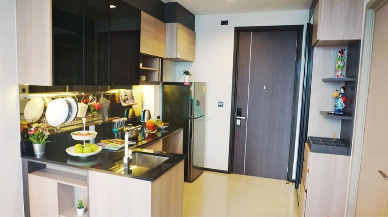 NOPPON REAL ESTATE CO.,LTD. Agency's For rent The LINE Asoke-Ratchada 1 bedroom 9th floor near MRT Phra Ram 9. 2