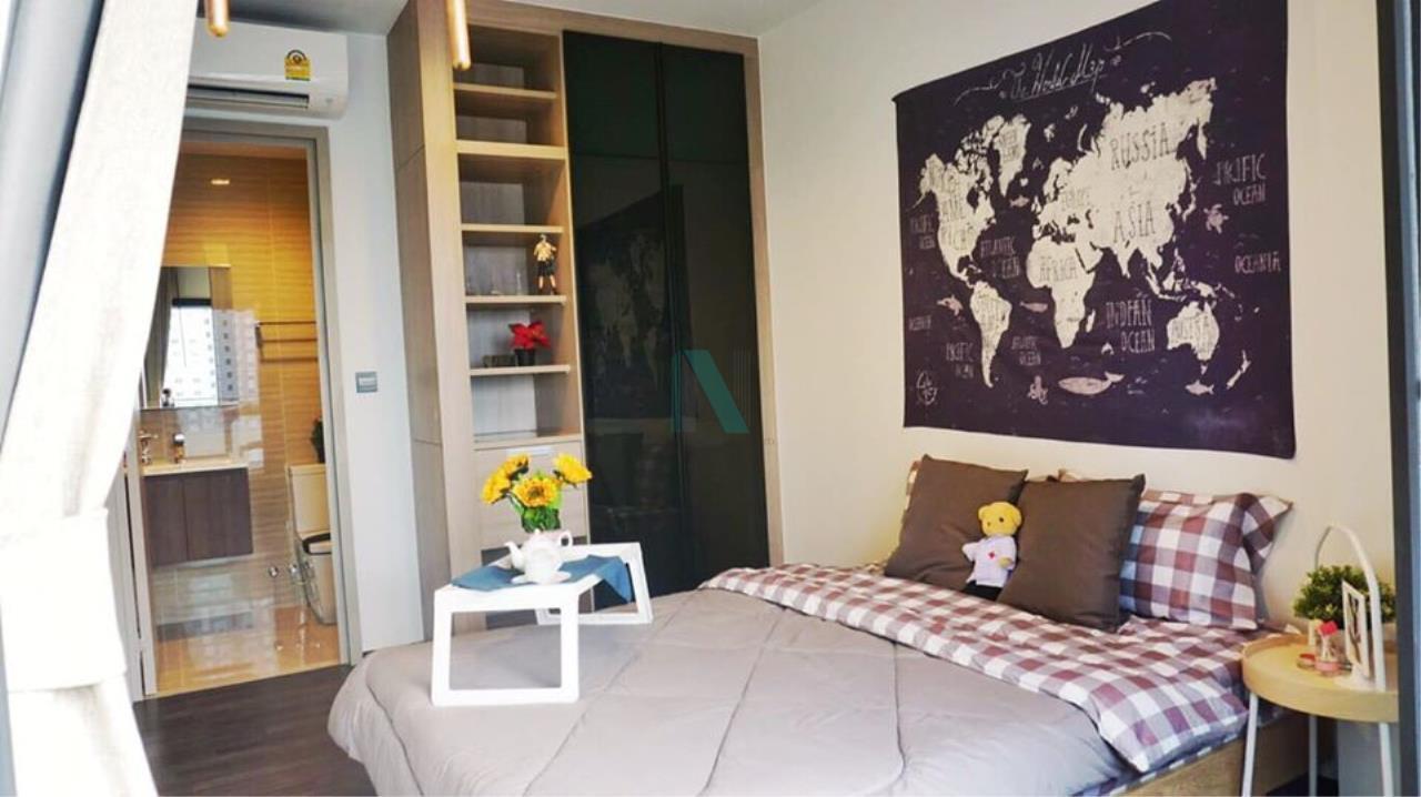 NOPPON REAL ESTATE CO.,LTD. Agency's For rent The LINE Asoke-Ratchada 1 bedroom 9th floor near MRT Phra Ram 9. 7