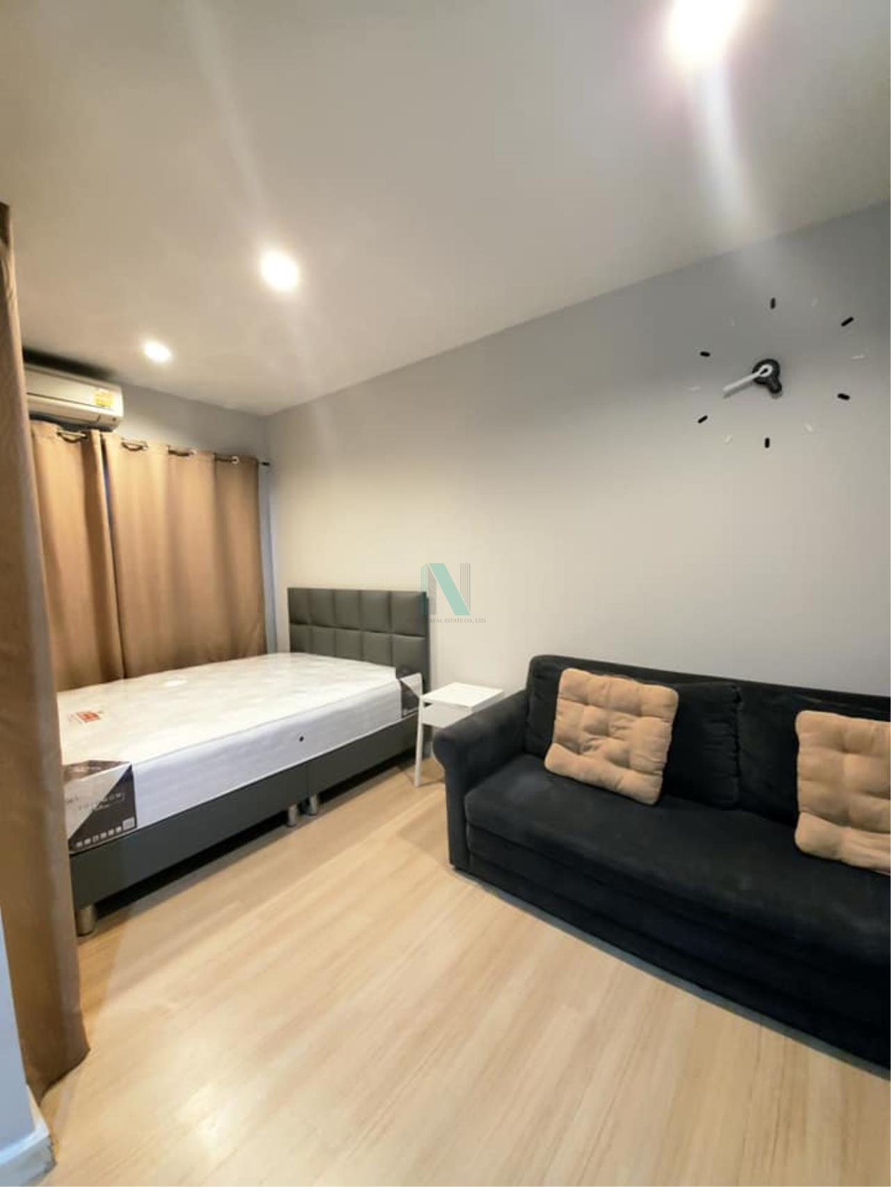 NOPPON REAL ESTATE CO.,LTD. Agency's For rent The Seed Mingle Sathorn-Suanplu STUDIO 4th floor . 2