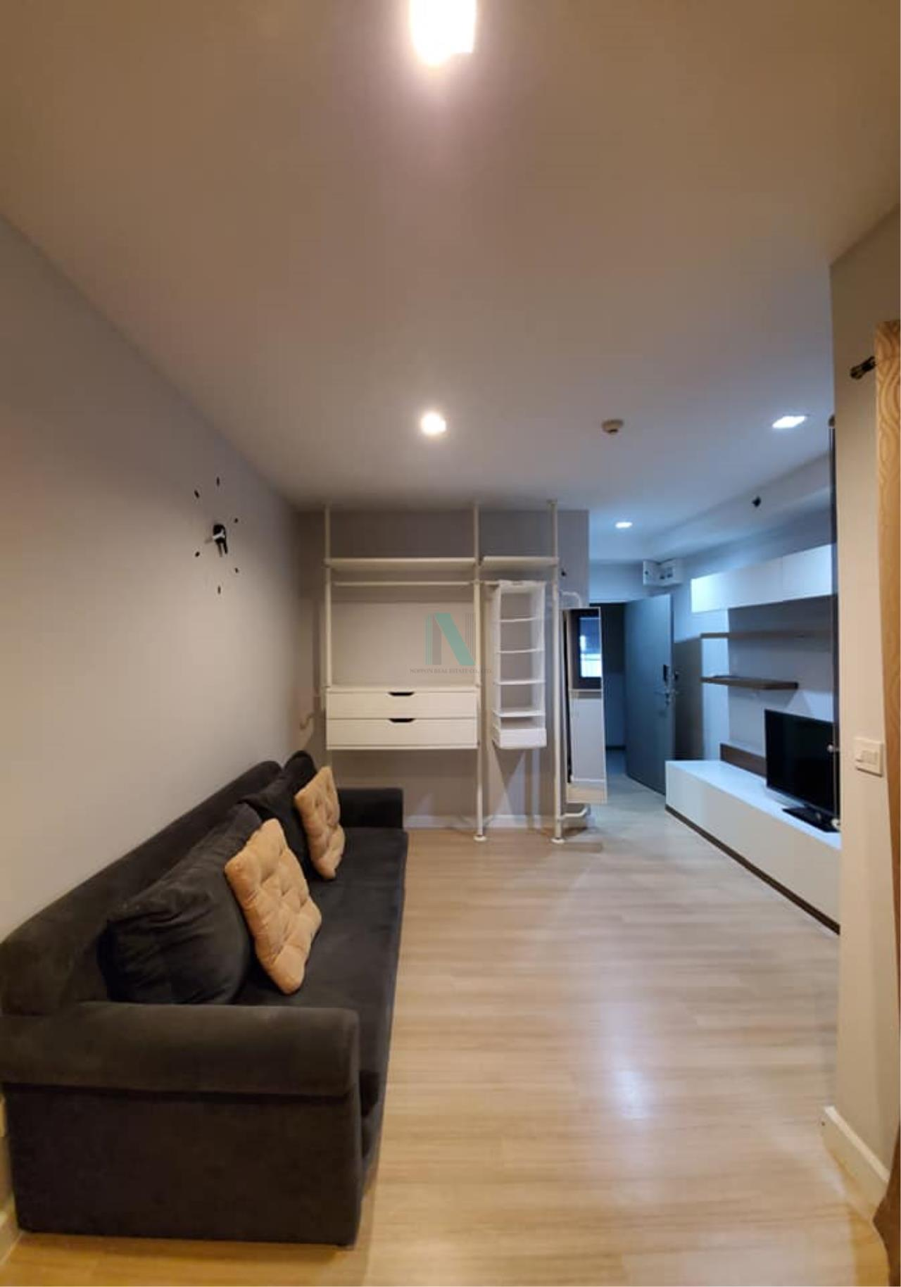 NOPPON REAL ESTATE CO.,LTD. Agency's For rent The Seed Mingle Sathorn-Suanplu STUDIO 4th floor . 5