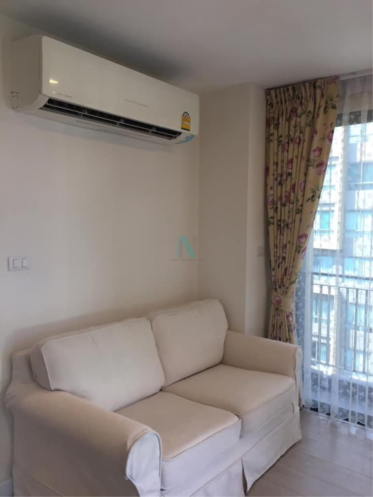NOPPON REAL ESTATE CO.,LTD. Agency's For rent Metro Luxe Rose Gold Phahonyothin-Suthisan 2 bedrooms 6th floor . 1
