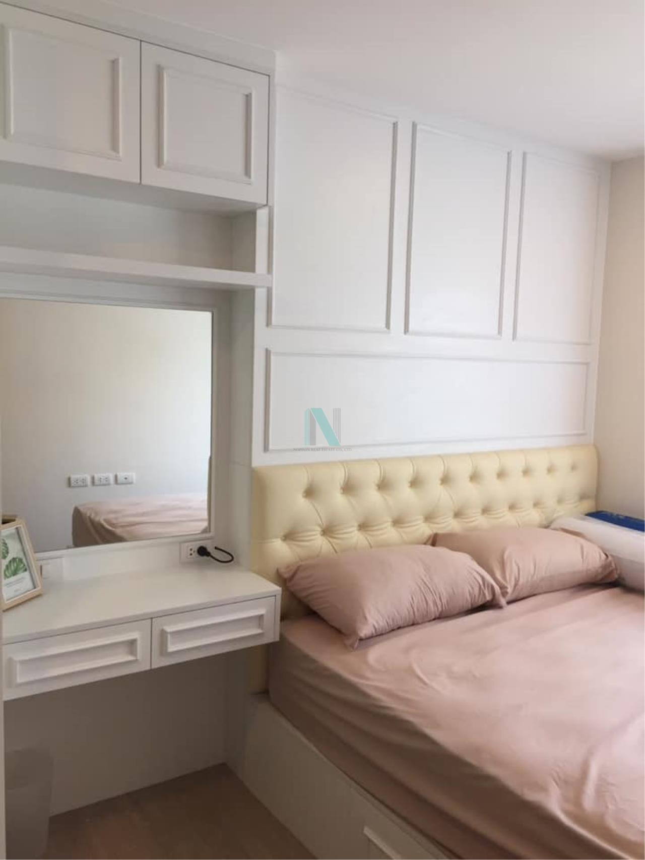 NOPPON REAL ESTATE CO.,LTD. Agency's For rent Metro Luxe Rose Gold Phahonyothin-Suthisan 2 bedrooms 6th floor . 6