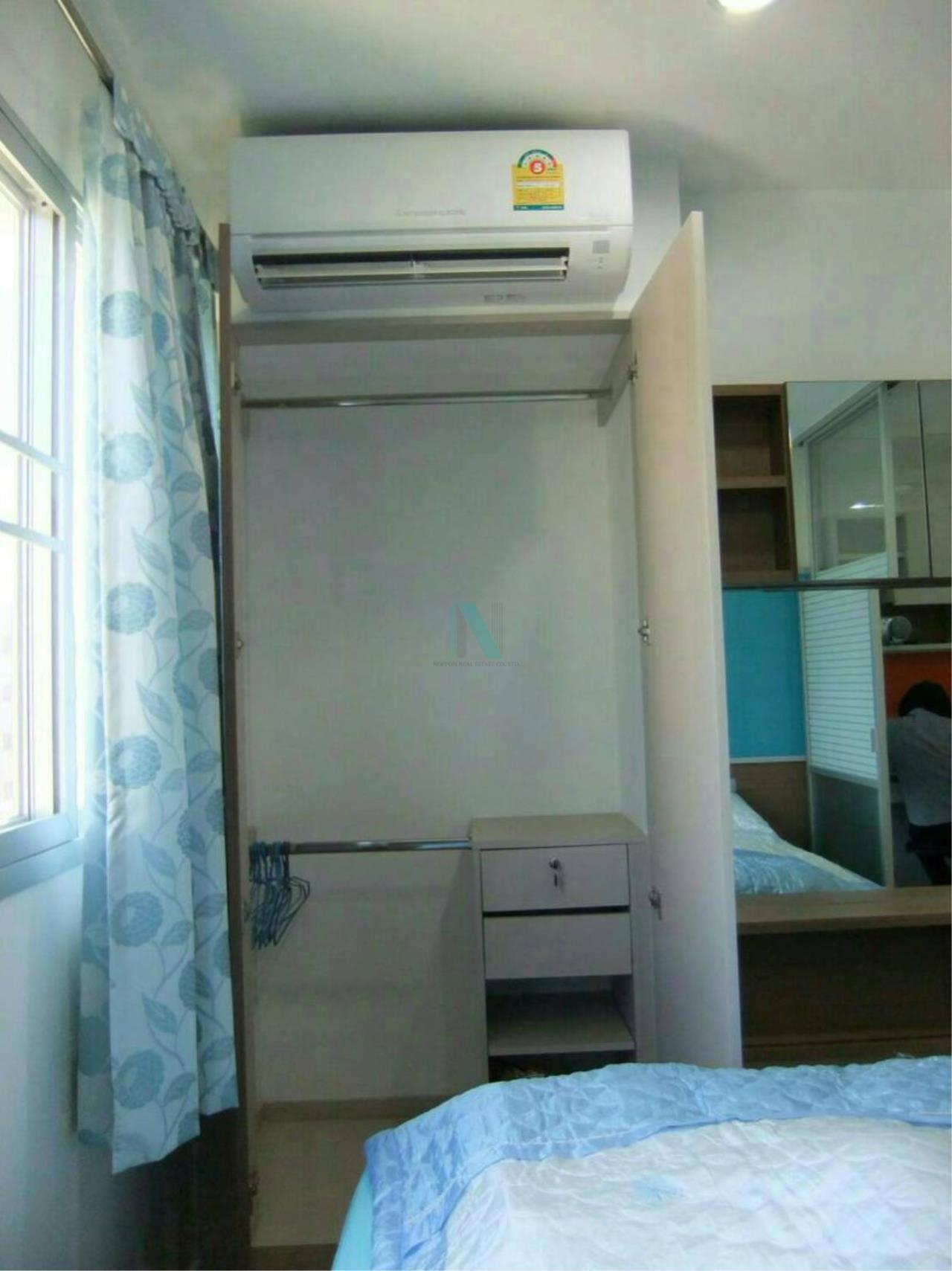 NOPPON REAL ESTATE CO.,LTD. Agency's For rent Lumpini Condo Town Ramindra-Latplakao 1 bedroom  Floor 6 . 8