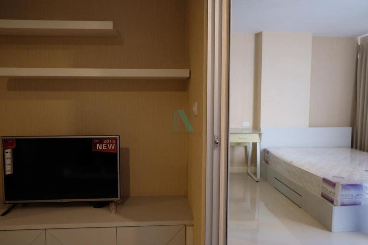 NOPPON REAL ESTATE CO.,LTD. Agency's For rent Swift Condo ABAC Bangna 1 bedroom 6th floor. 4