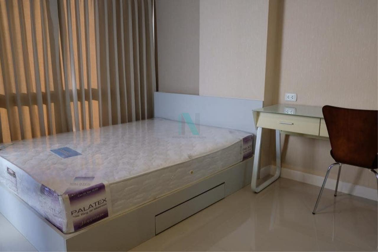 NOPPON REAL ESTATE CO.,LTD. Agency's For rent Swift Condo ABAC Bangna 1 bedroom 6th floor. 5