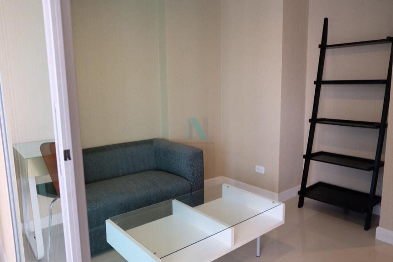 NOPPON REAL ESTATE CO.,LTD. Agency's For rent Swift Condo ABAC Bangna 1 bedroom 6th floor. 6