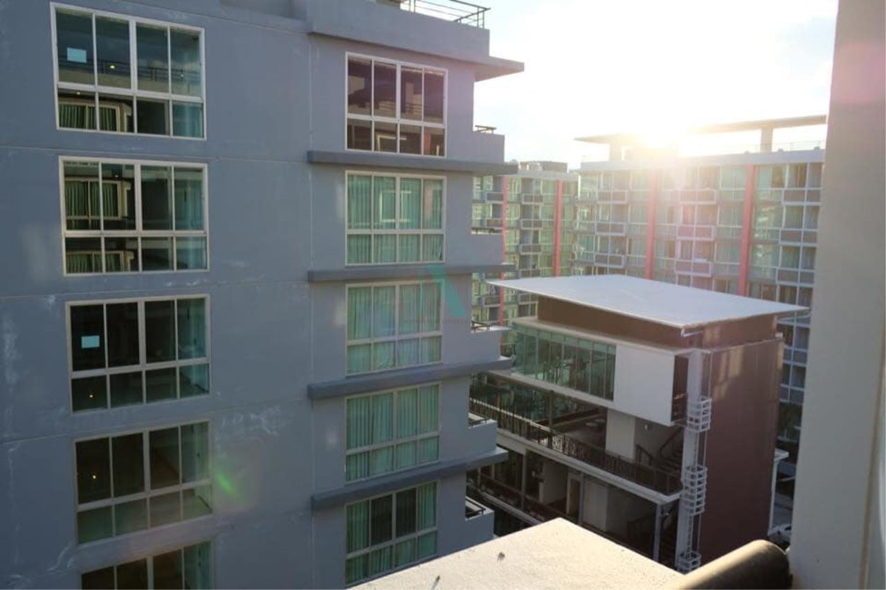 NOPPON REAL ESTATE CO.,LTD. Agency's For rent Swift Condo ABAC Bangna 1 bedroom 6th floor. 8