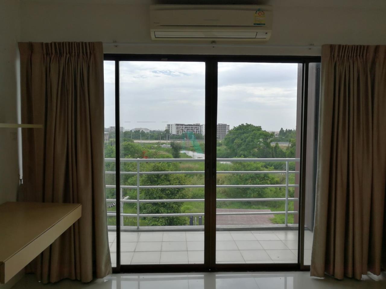 NOPPON REAL ESTATE CO.,LTD. Agency's For rent Landmark Residence ABAC Bangna, STUDIO 5th floor. 6