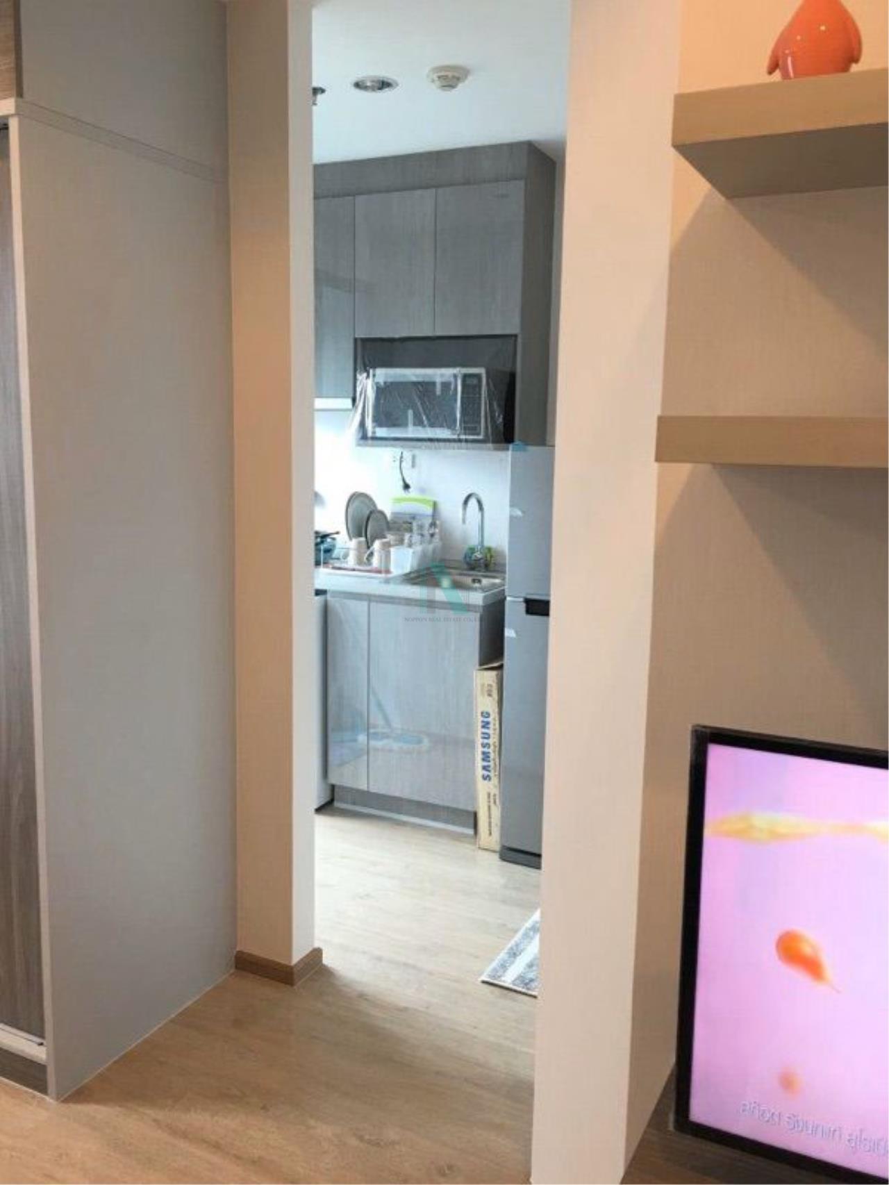 NOPPON REAL ESTATE CO.,LTD. Agency's For rent Ideo Wutthakat STUDIO Floor 21 near BTS Wutthakat 2