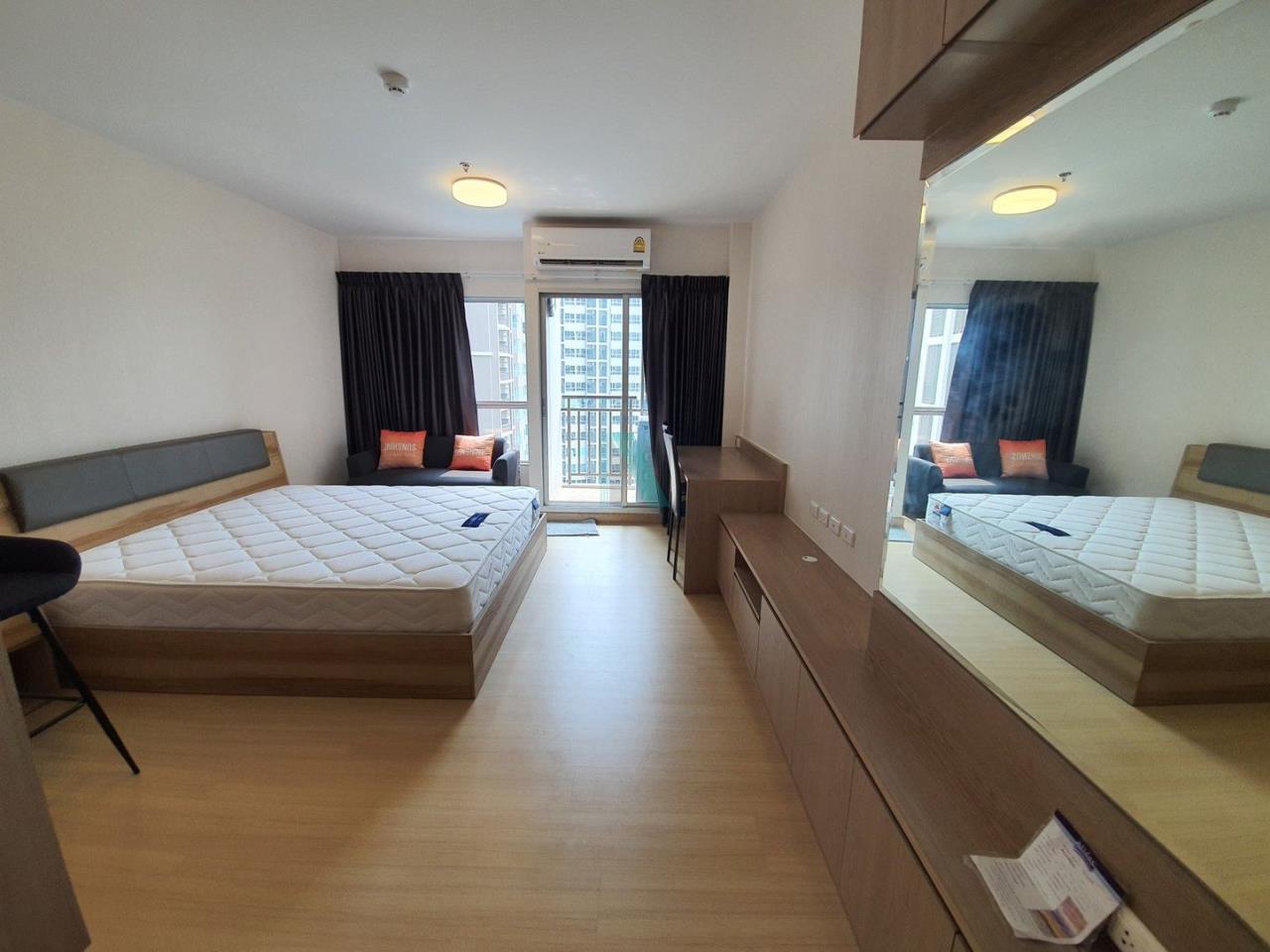 NOPPON REAL ESTATE CO.,LTD. Agency's For rent Supalai Veranda Rama 9 STUDIO 18th floor.  2