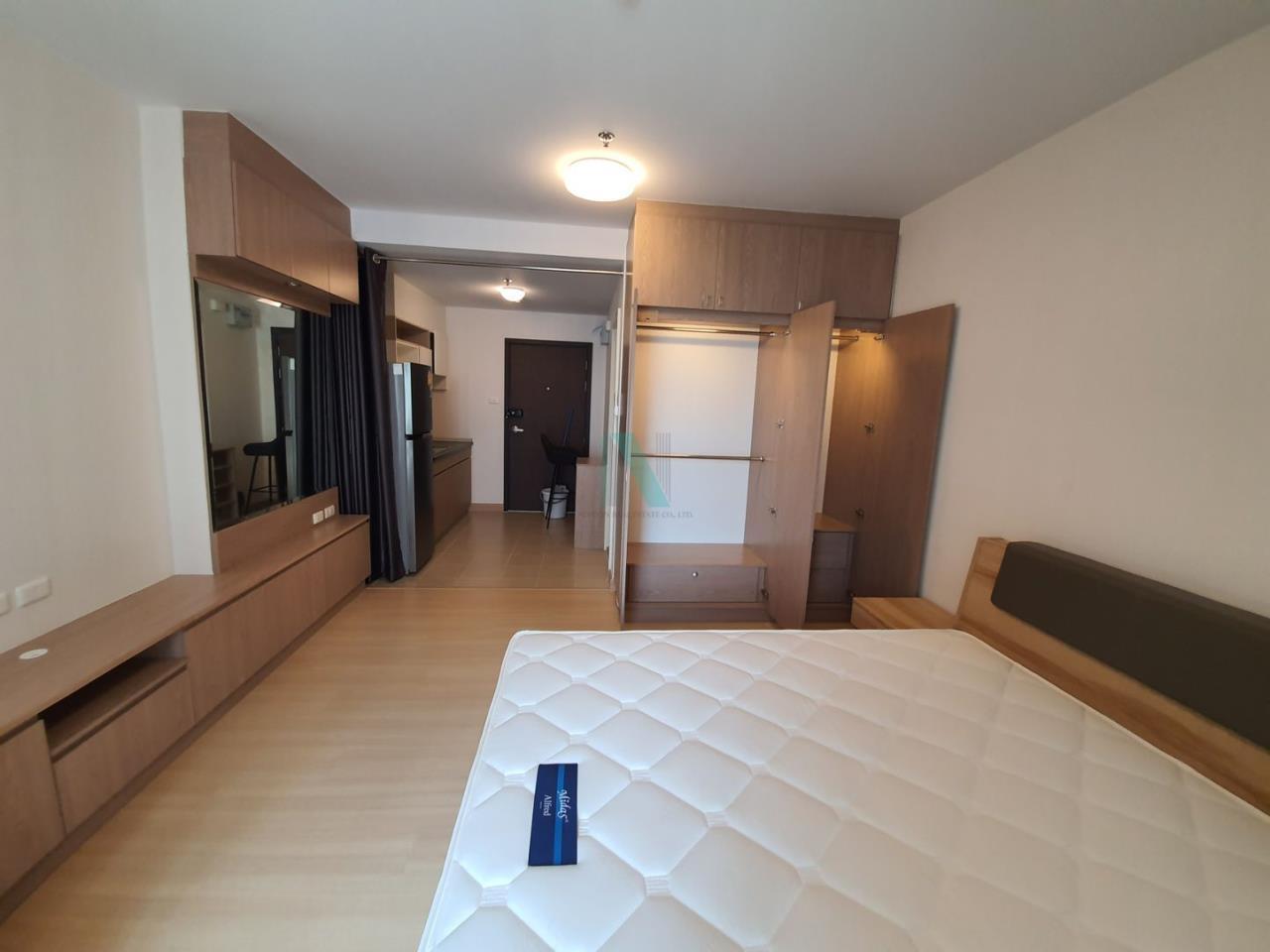NOPPON REAL ESTATE CO.,LTD. Agency's For rent Supalai Veranda Rama 9 STUDIO 18th floor.  4