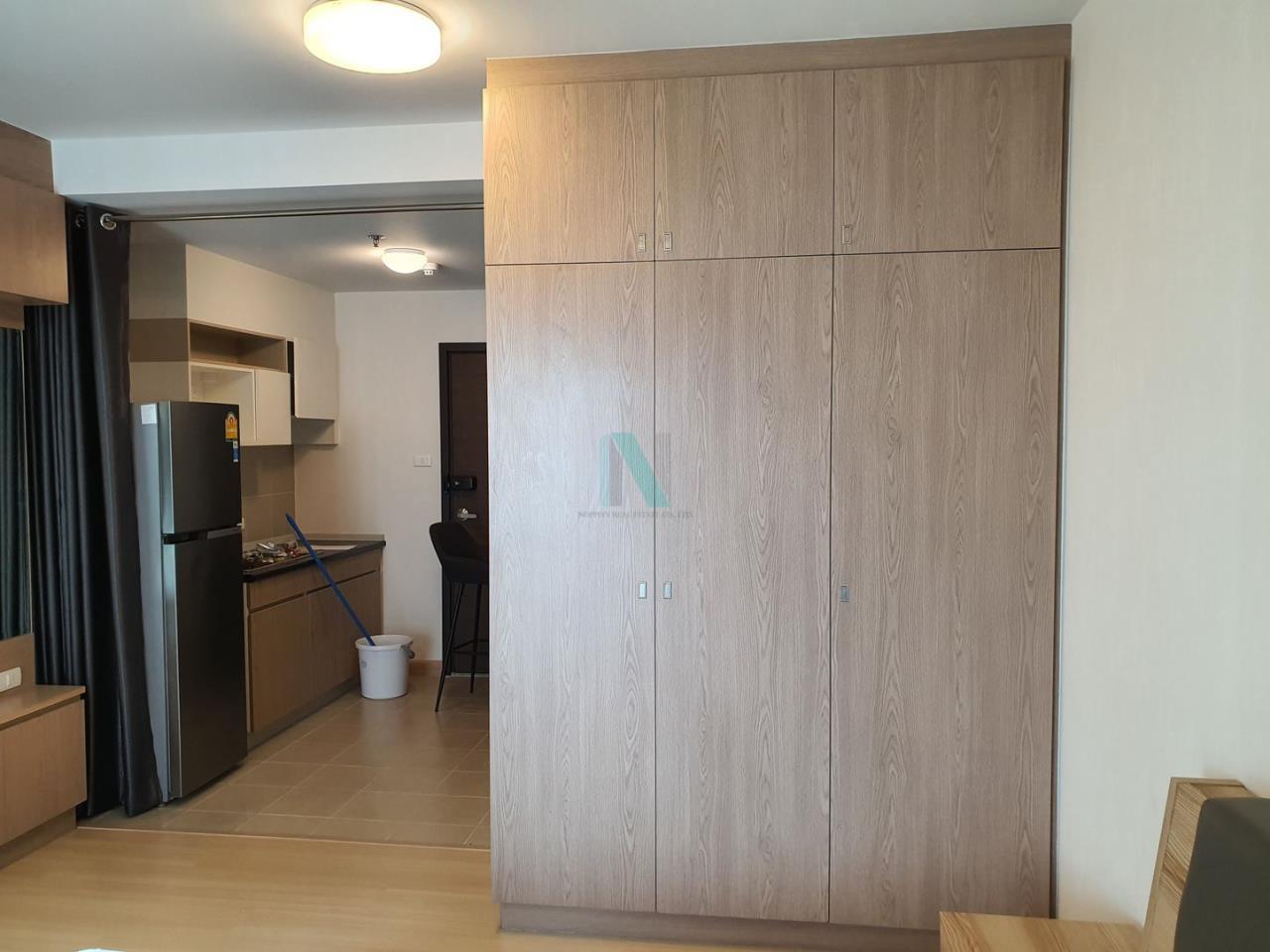 NOPPON REAL ESTATE CO.,LTD. Agency's For rent Supalai Veranda Rama 9 STUDIO 18th floor.  5