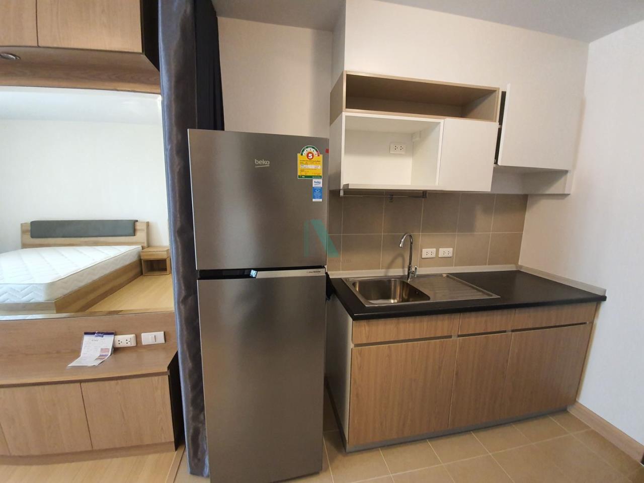 NOPPON REAL ESTATE CO.,LTD. Agency's For rent Supalai Veranda Rama 9 STUDIO 18th floor.  6