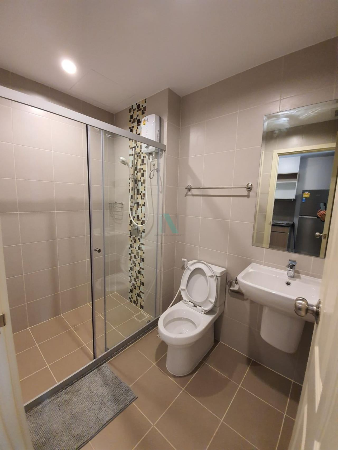 NOPPON REAL ESTATE CO.,LTD. Agency's For rent Supalai Veranda Rama 9 STUDIO 18th floor.  8