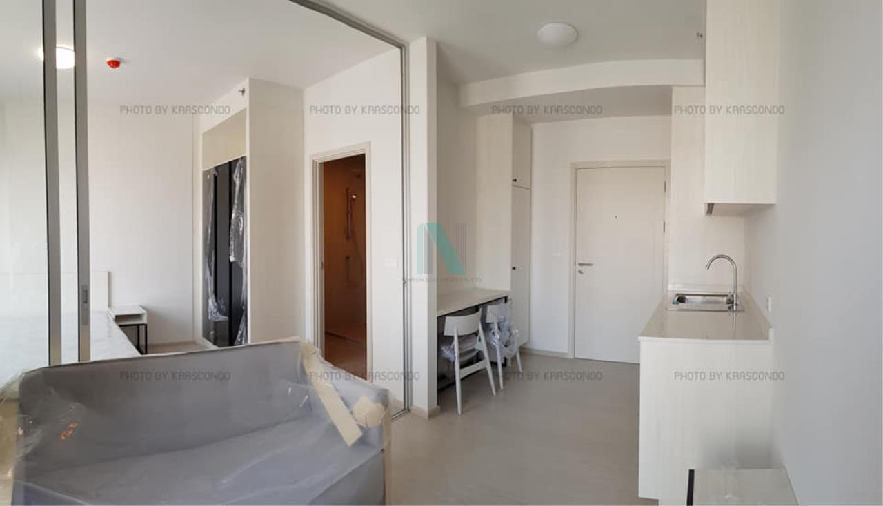 NOPPON REAL ESTATE CO.,LTD. Agency's For rent Chapter One Shine Bangpho 1 bedroom 17th floor. 2