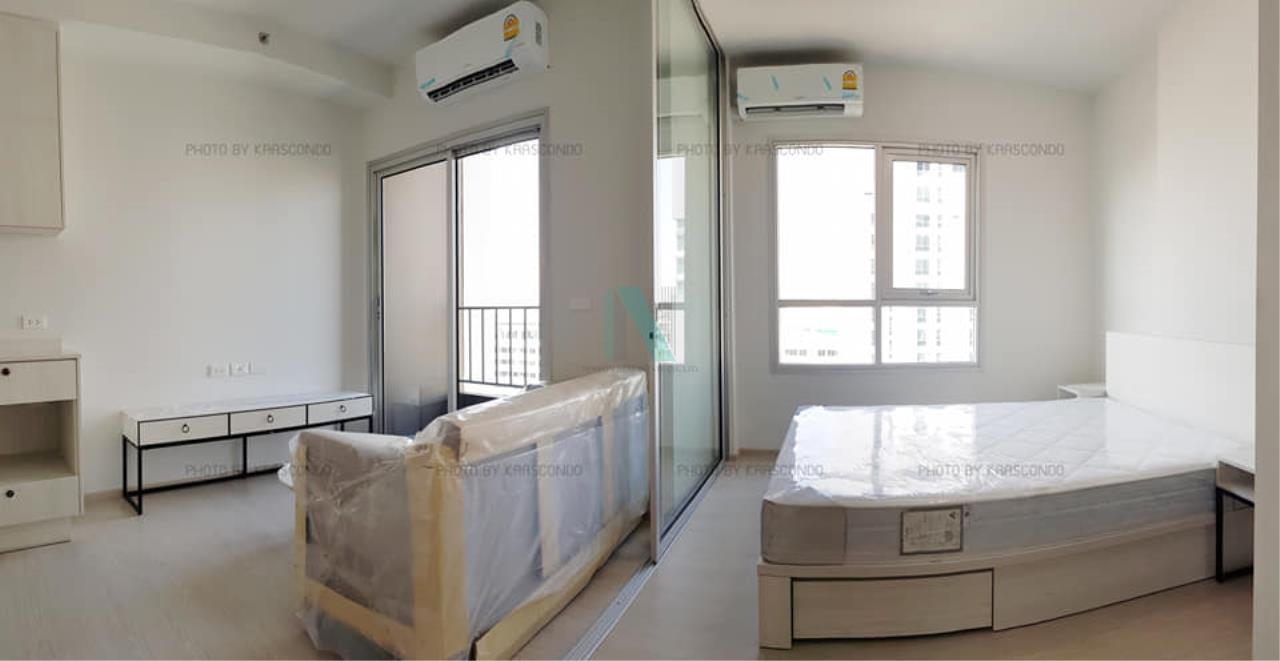 NOPPON REAL ESTATE CO.,LTD. Agency's For rent Chapter One Shine Bangpho 1 bedroom 17th floor. 4