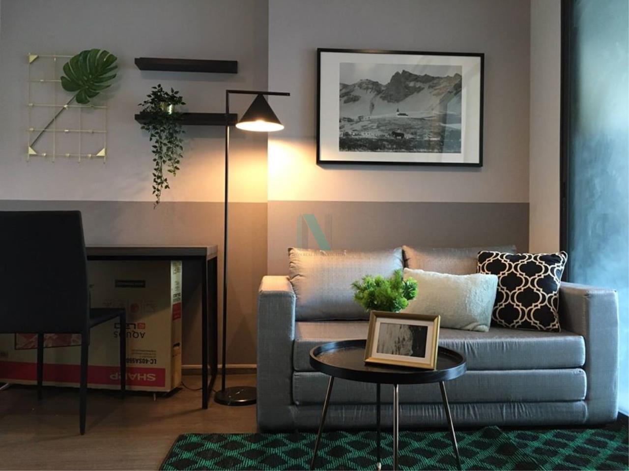 NOPPON REAL ESTATE CO.,LTD. Agency's For rent Ideo Sukhumvit 93 1 bedroom Floor 25 Building B  BTS Bang Chak. 2