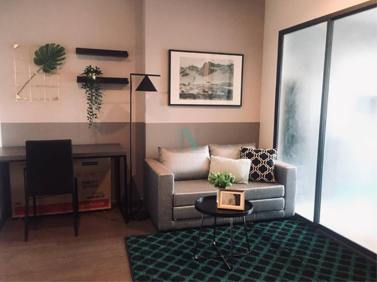 NOPPON REAL ESTATE CO.,LTD. Agency's For rent Ideo Sukhumvit 93 1 bedroom Floor 25 Building B  BTS Bang Chak. 4