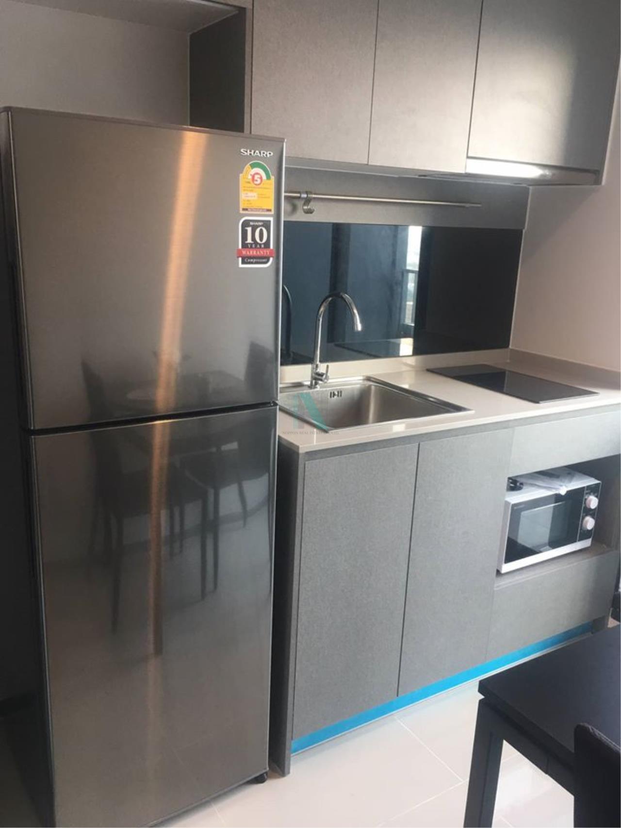 NOPPON REAL ESTATE CO.,LTD. Agency's For rent Ideo Sukhumvit 93 1 bedroom Floor 25 Building B  BTS Bang Chak. 7