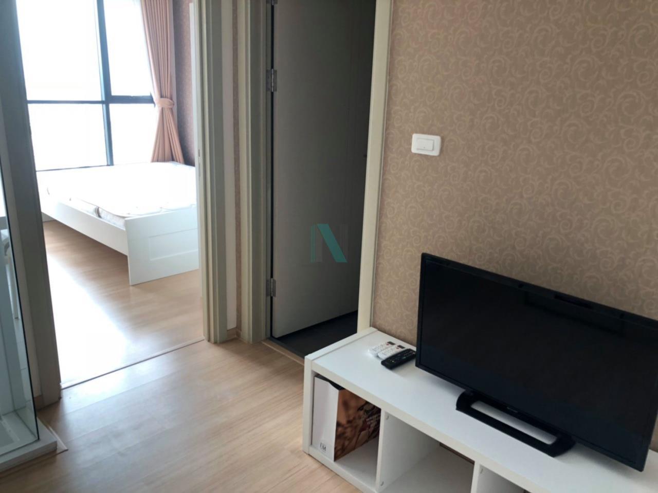 NOPPON REAL ESTATE CO.,LTD. Agency's For Rent The Base Rama 9 - Ramkhamhaeng 1 Bedroom Floor 35. 5