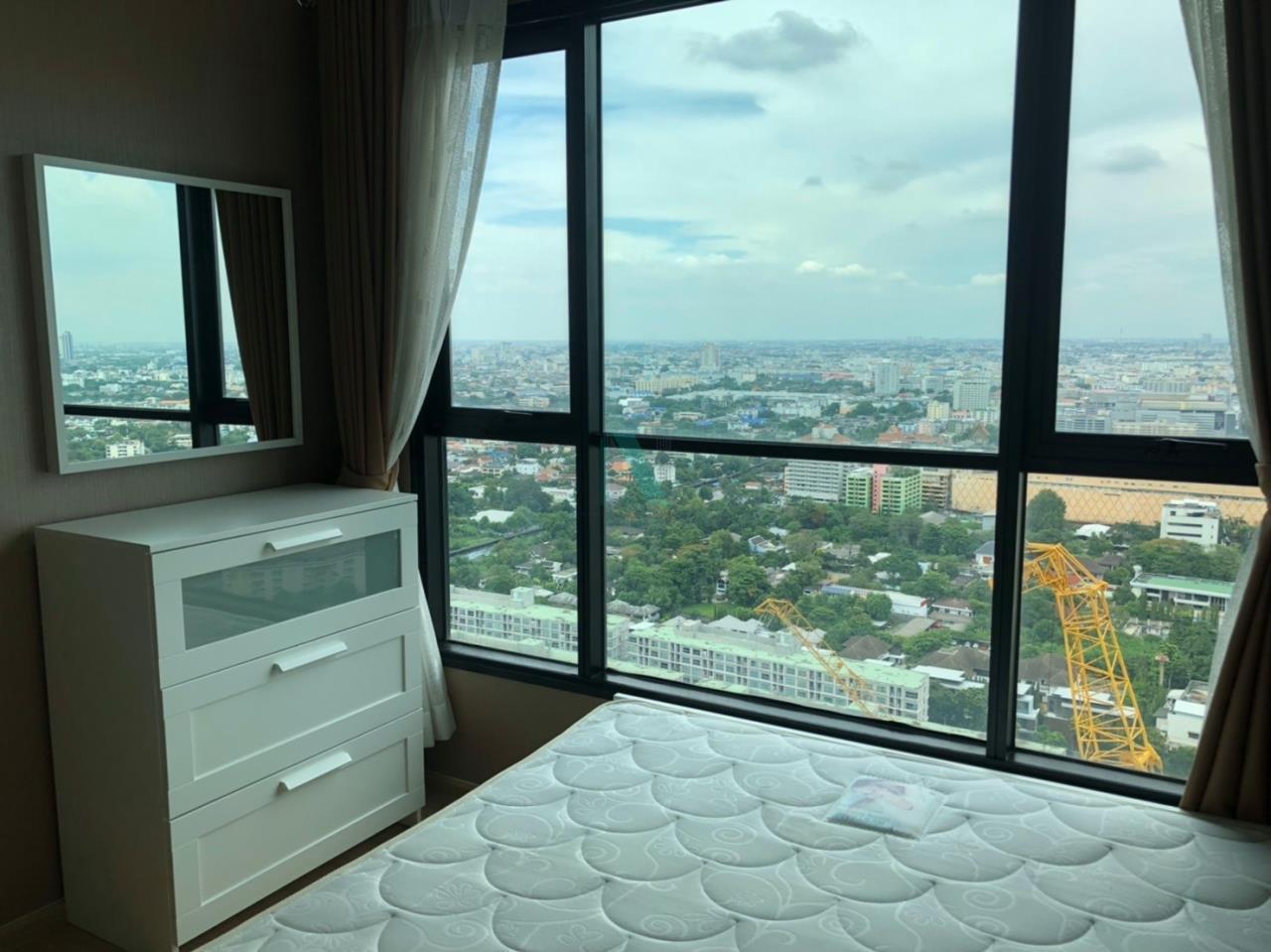 NOPPON REAL ESTATE CO.,LTD. Agency's For Rent The Base Rama 9 - Ramkhamhaeng 1 Bedroom Floor 35. 2