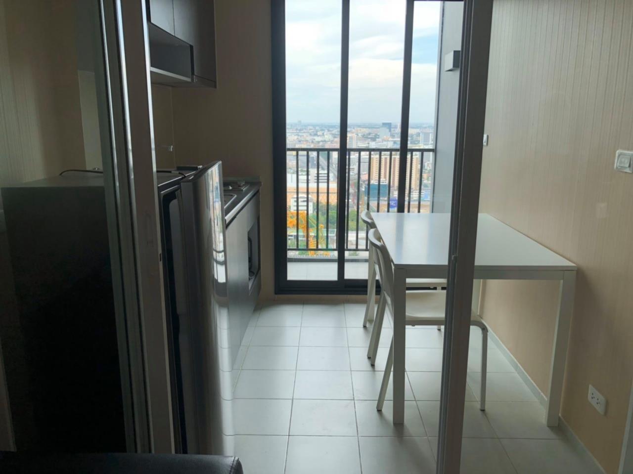 NOPPON REAL ESTATE CO.,LTD. Agency's For Rent The Base Rama 9 - Ramkhamhaeng 1 Bedroom Floor 35. 4