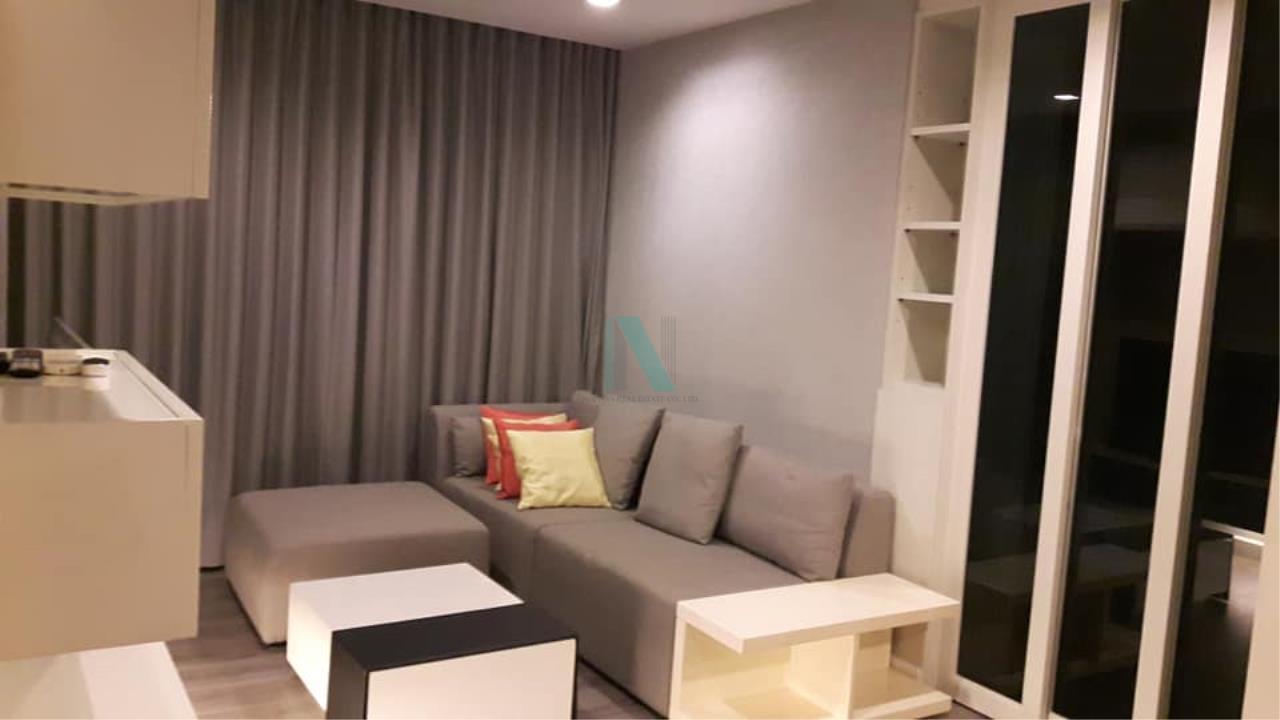 NOPPON REAL ESTATE CO.,LTD. Agency's For rent The Room Sukhumvit 40 1 bedroom 4th floor near BTS Ekkamai. 2