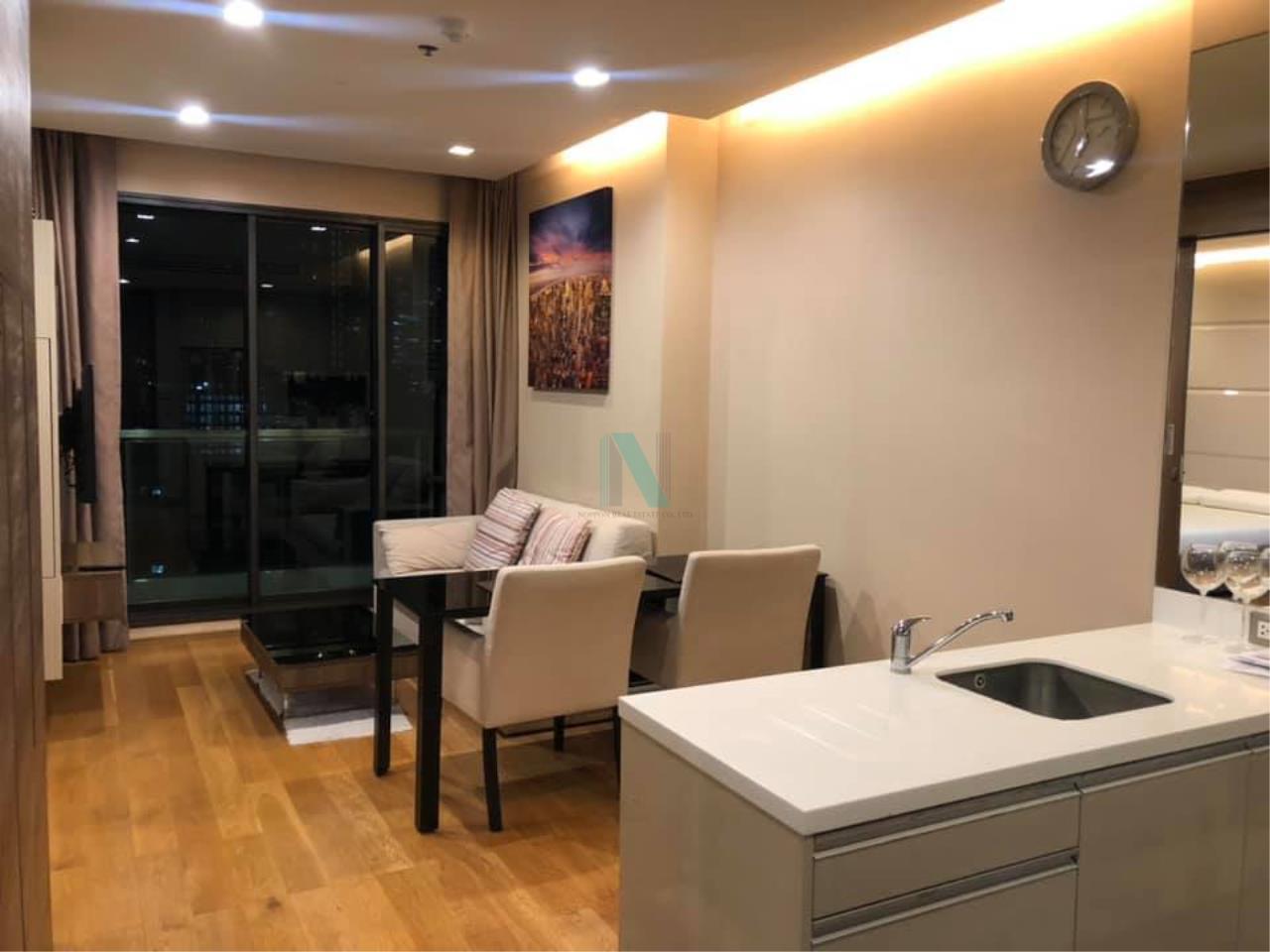 NOPPON REAL ESTATE CO.,LTD. Agency's For rent The Address Sathorn 1 bedroom 9th floor near BTS Chong Nonsi. 1