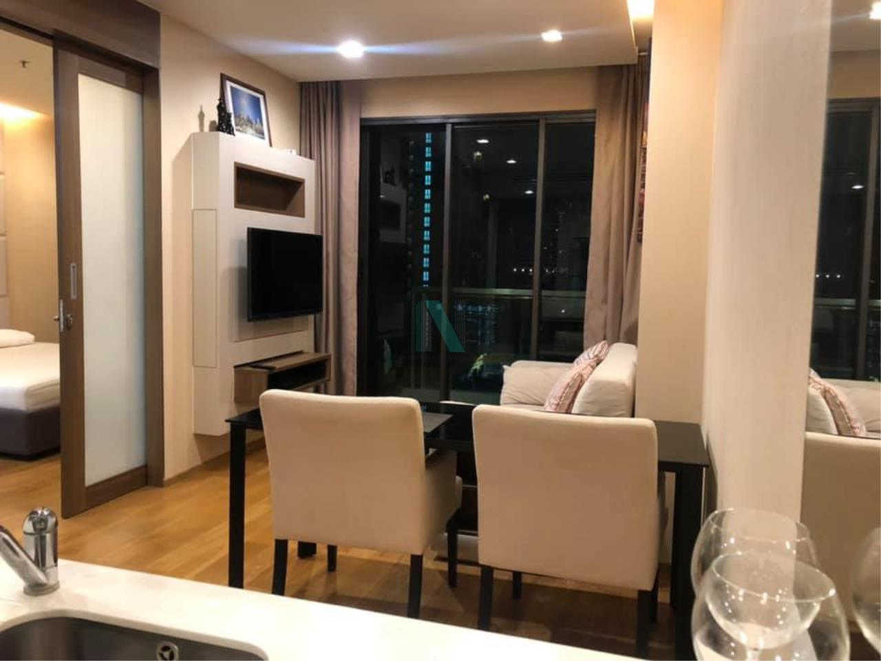 NOPPON REAL ESTATE CO.,LTD. Agency's For rent The Address Sathorn 1 bedroom 9th floor near BTS Chong Nonsi. 4