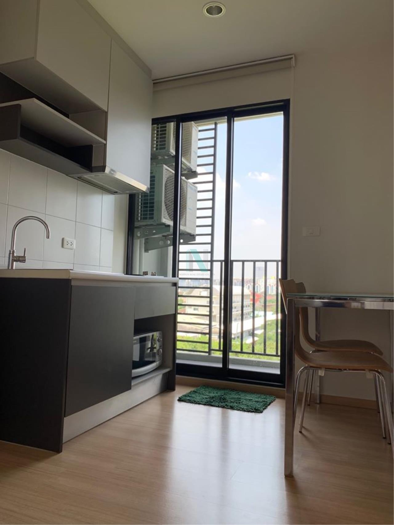 NOPPON REAL ESTATE CO.,LTD. Agency's For rent The Base Chaengwattana 1 bedroom 6th floor Building A. 5