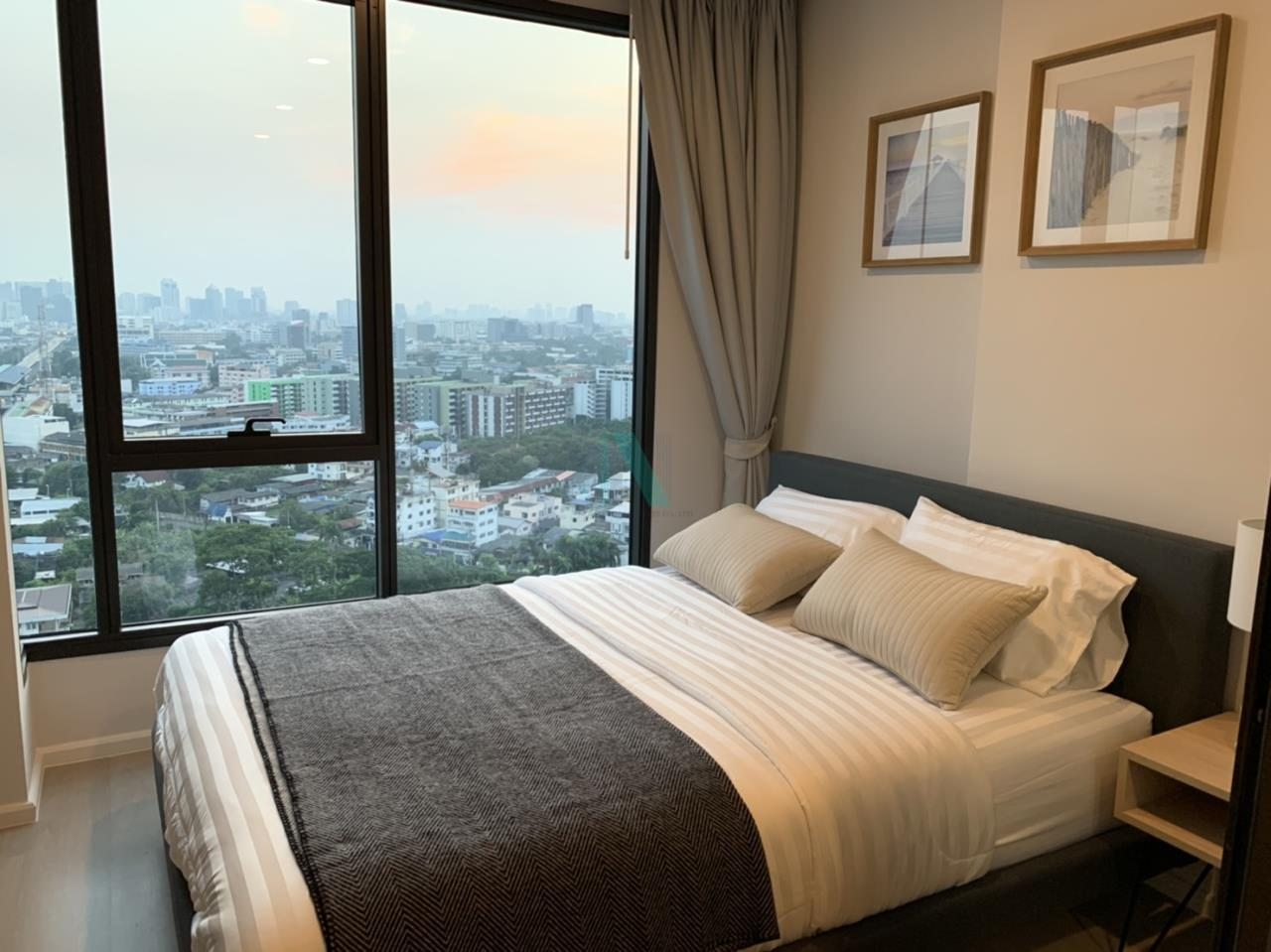 NOPPON REAL ESTATE CO.,LTD. Agency's For rent Ciela Sripatum 1 bedroom 2th floor near BTS Si Pathum. 3