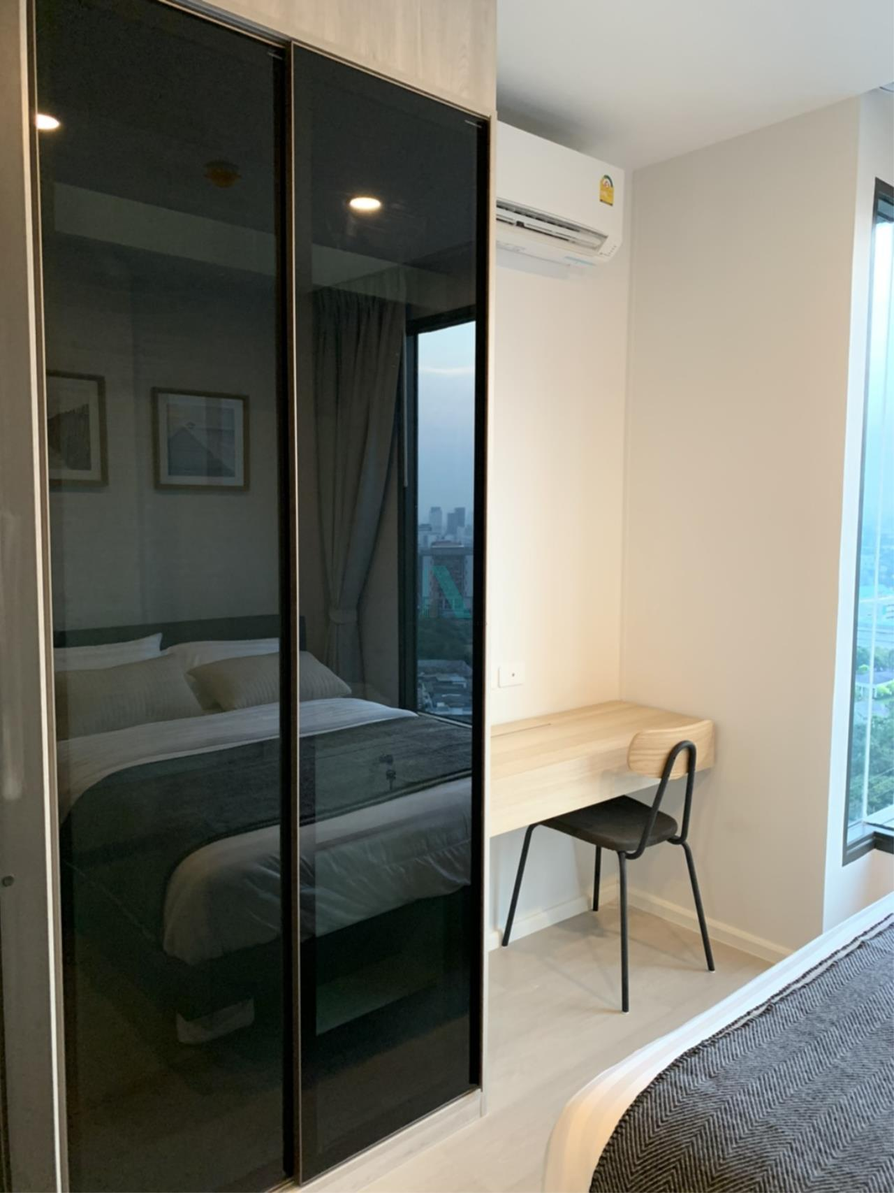 NOPPON REAL ESTATE CO.,LTD. Agency's For rent Ciela Sripatum 1 bedroom 2th floor near BTS Si Pathum. 4