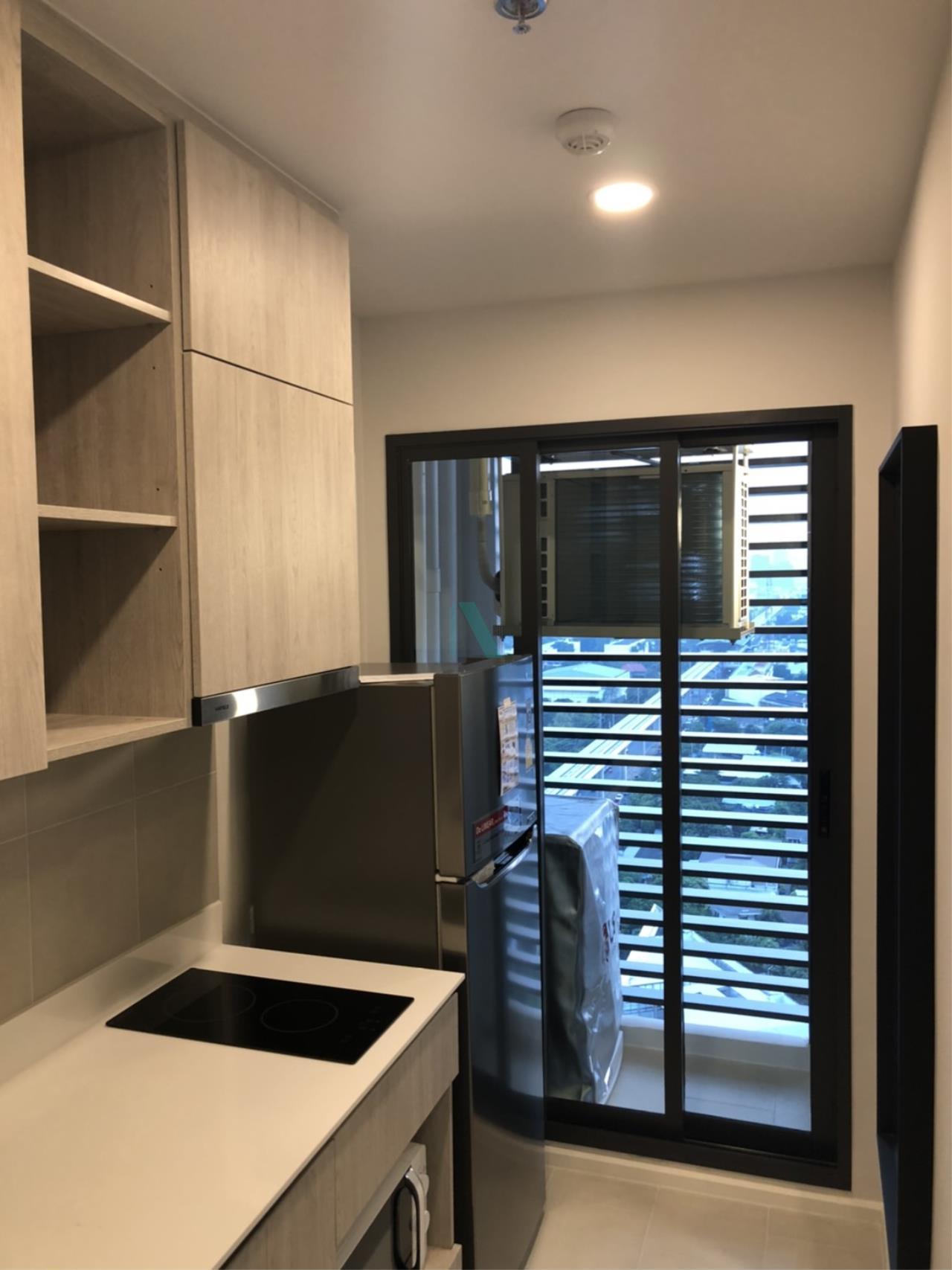 NOPPON REAL ESTATE CO.,LTD. Agency's For rent Ciela Sripatum 1 bedroom 2th floor near BTS Si Pathum. 7